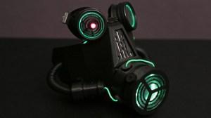 NeoPixel 3D Gas Mask from Adafruit