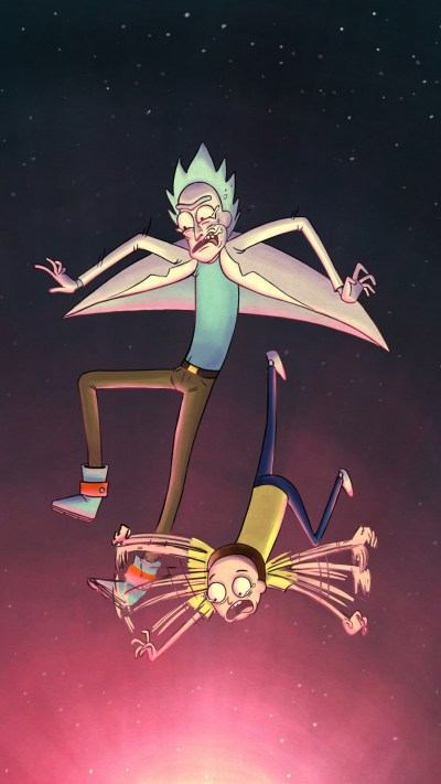 Best Rick And Morty Cartoon Network iPhone Wallpaper ...