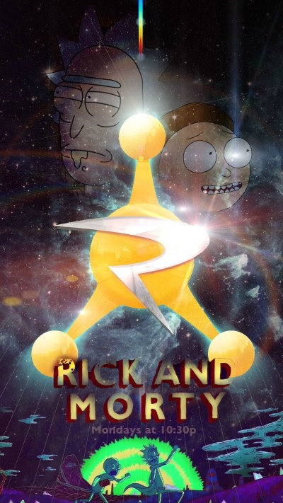 Rick And Morty For iPhone Wallpaper   2019 3D iPhone Wallpaper