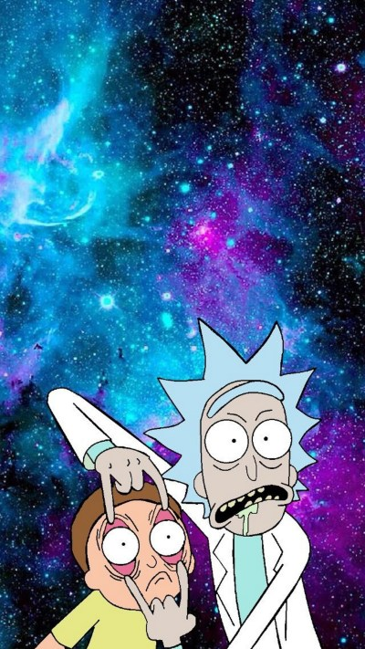 Rick And Morty Phone Wallpaper | 2019 3D iPhone Wallpaper