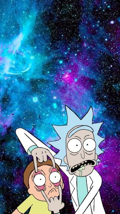 Rick And Morty Phone Wallpaper | 2019 3D iPhone Wallpaper