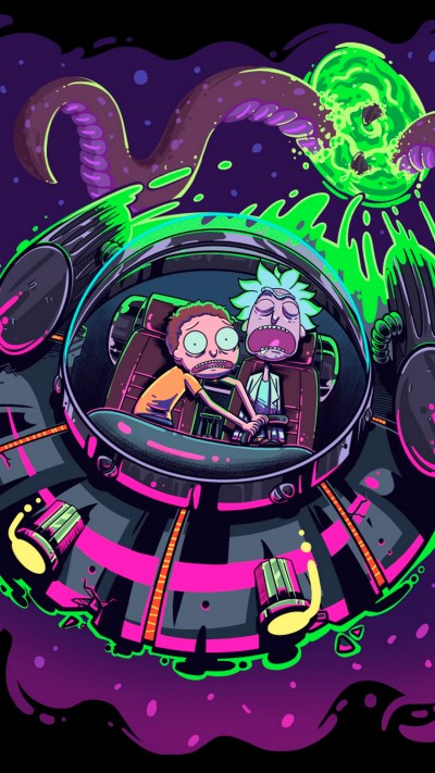 Wallpaper Rick And Morty iPhone Background - 2018 iPhone Wallpapers