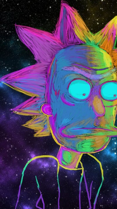 Wallpaper Rick And Morty iPhone HD | 2019 3D iPhone Wallpaper