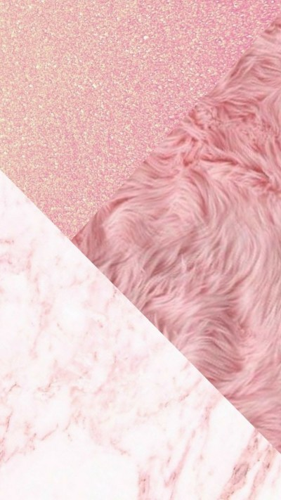 Wallpaper iPhone Rose Gold Glitter | 2019 3D iPhone Wallpaper