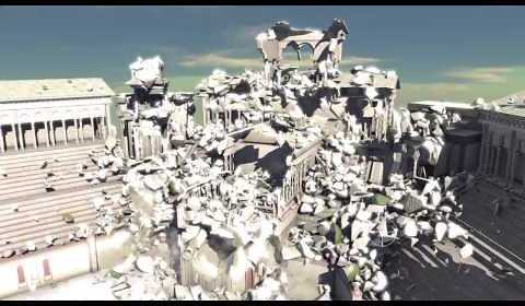 Real Time Dynamic Fracture – NvidiaがGDC2013にて公開したリアルタイム物理破壊技術映像!