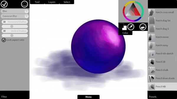 Krita Sketch 1.0 for Windows