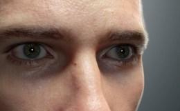 Ed - リアルすぎる!CGアーティストChris Jones氏による超絶リアルな顔面モデル最新バージョン!Lightwaveで制作!