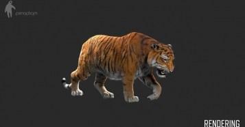 Making Of / Lilyhammer - Tiger - TVシリーズ『LILYHAMMER 』に登場するフルCGの「虎」メイキング!