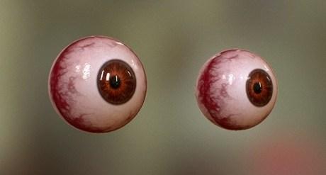 Realtime Editable Procedual Eyes for Marmoset