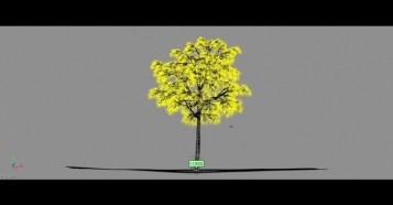 Making Dynamic Trees - グリグリ動く!Softimage ICE、Syflex、Maya、Vrayを使ったリアルなツリーのメイキング映像!
