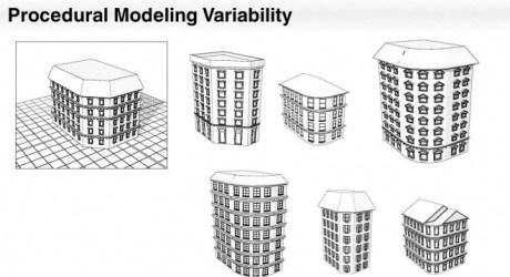 Interactive Sketching of Urban Procedural Models - スケッチベースにプロシージャルな建物モデルを生成する技術論文!