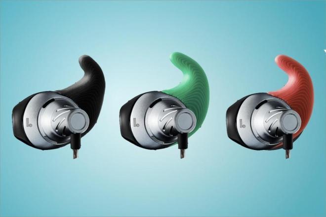 Normal custom 3D printed earbuds.