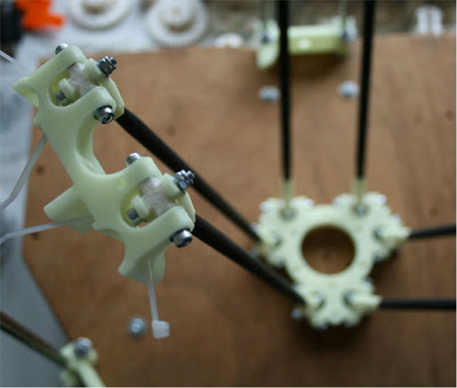 Rostock 3D printer - finished carriage 2