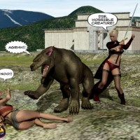 3dcomics new version - Beauty and the beast