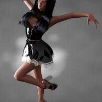 Gothic girl in a dance >> 3d sex + 3d porn