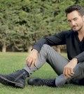 حفل المغني اليوناني كريستوس مينيدياتيس خلال عيد الإتحاد ال 44 في دبي