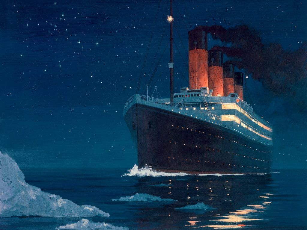 Titanic s Passengers All Rescued     gCaptain This Day in History     At 2 20 a m  on April 15  1912  the British ocean  liner RMS Titanic sinks into the North Atlantic Ocean about 400 miles south  of