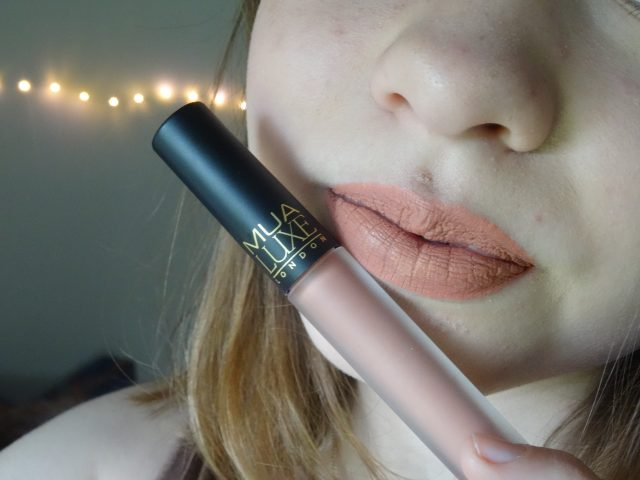 MUA Luxe Velvet Lip Lacquer Tranquility | Review