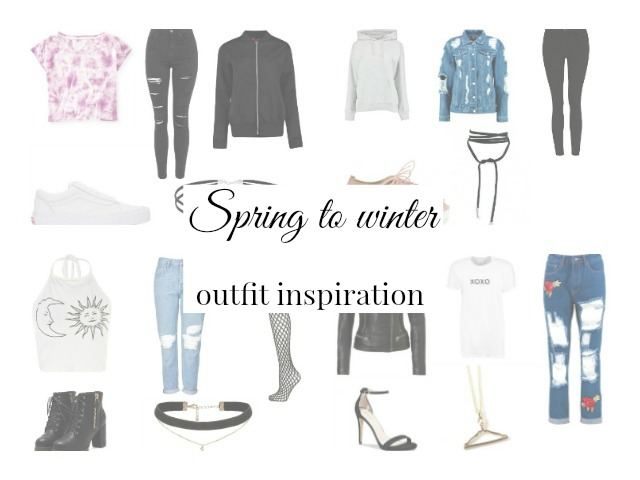 Spring to winter outfit inspiration