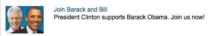 obama and bill clinton ad
