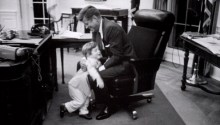 JFK in Washington Chair