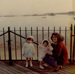 Mary Ann, Florinda, and Teresa, many years ago