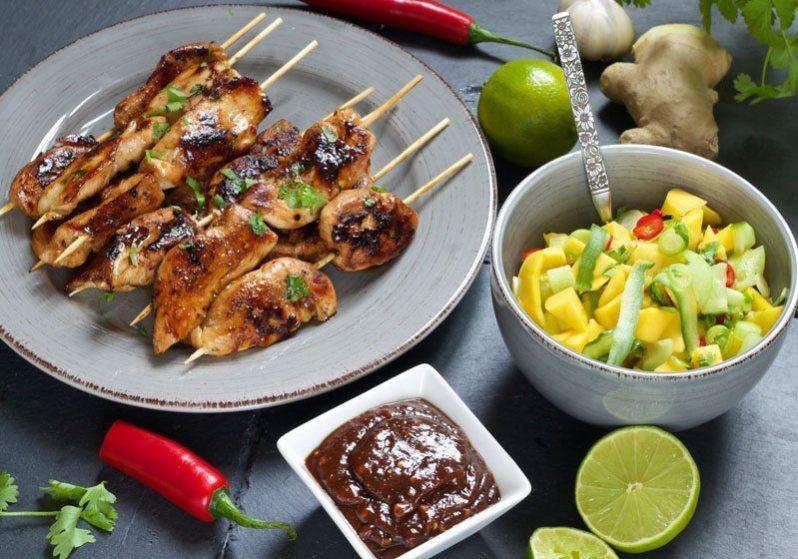 kylling-satay