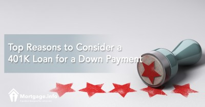 Top Reasons to Consider a 401K Loan for a Down Payment - Mortgage.info
