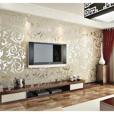 Living Room Wallpaper at Rs 1500 /square feet | लिविंग रूम वॉलपेपर्स - D Design, New Delhi | ID ...