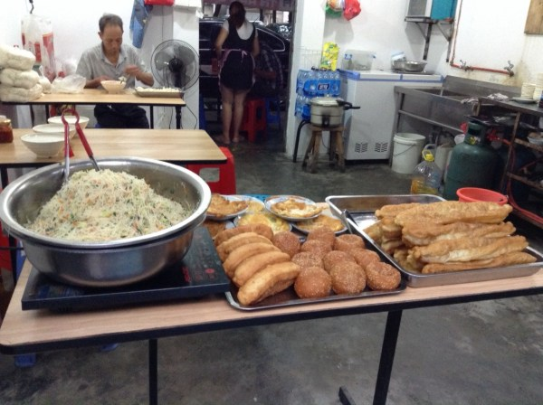 china fried food