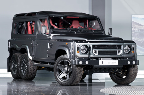 hypebeast:  Kahn Land Rover Defender Flying Huntsman 6x6You don't want to get in the way of this one.