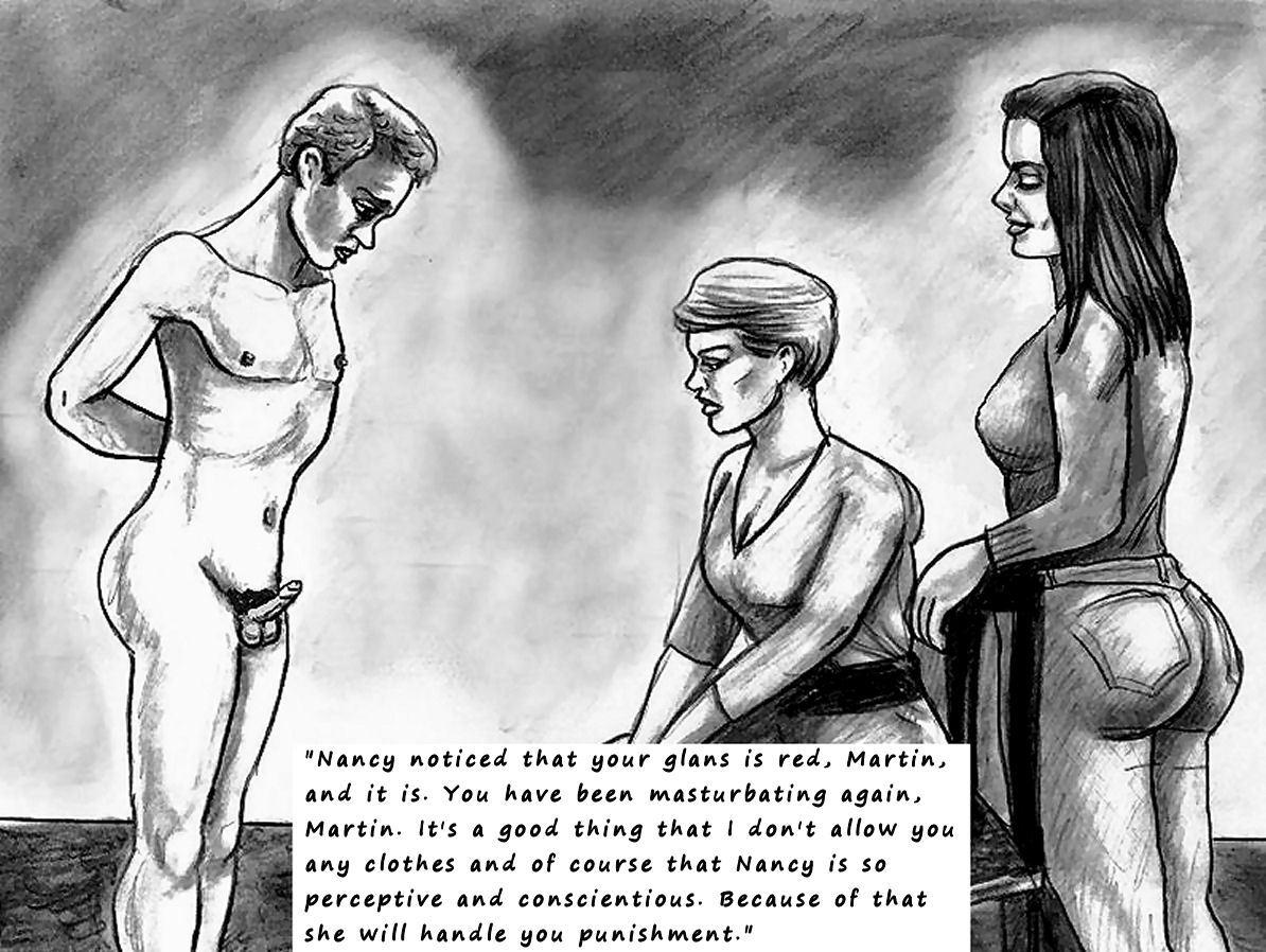 femdom art caning