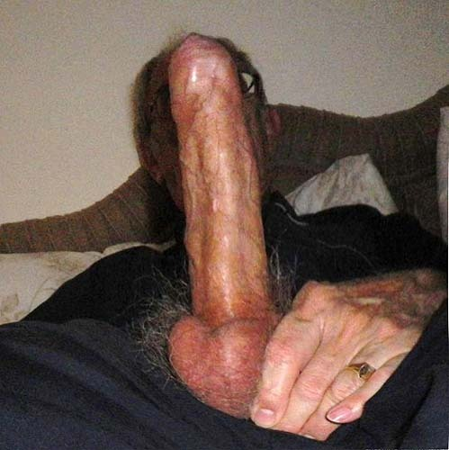grandpa and his monster cock