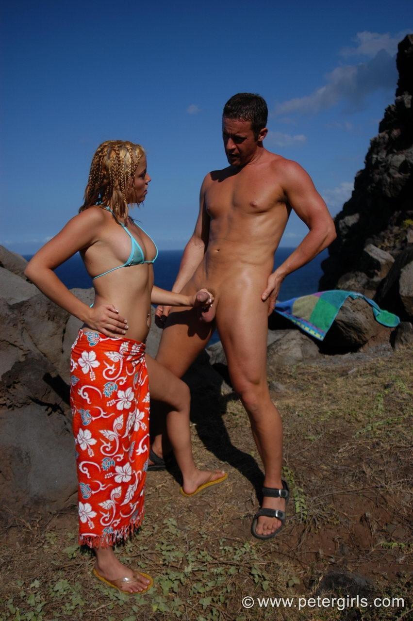 women grabbing strangers dick