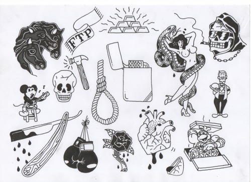 tattoo sketches tumblr