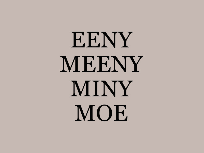 Cool Breeze in the Garden | Eeny Meeny Miny Moe