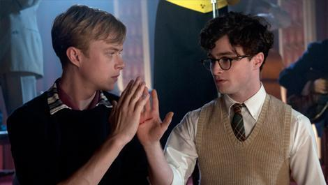 total film exclusive kill your darlings clip sparks fly Kill Your Darlings Clip and Photos Featuring Daniel Radcliffe and Dane DeHaan 470x265