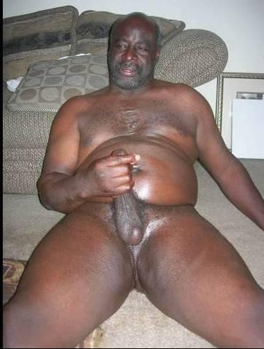 grandpa uncut cock