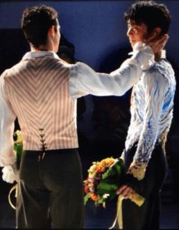 Total bromance moment! (^_−)−☆