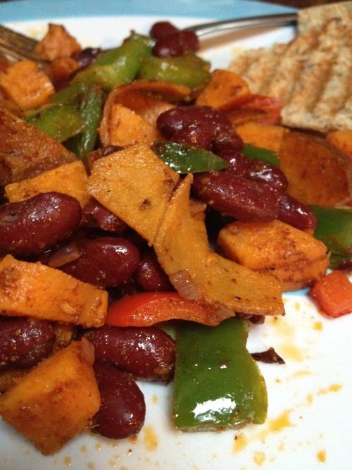 bean vegetable medley