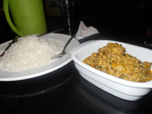 Image result for rice and egusi