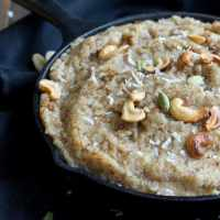 Vegan Bread Halwa