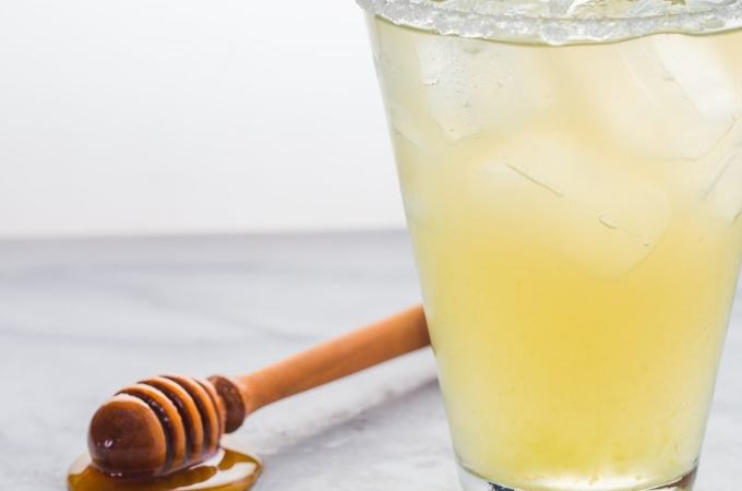 The perfect homemade margaritas, sweetened with natural honey. Tart, sweet, and stout enough to make it worth your while--they take only a few minutes and go with pretty much everything Mexican.