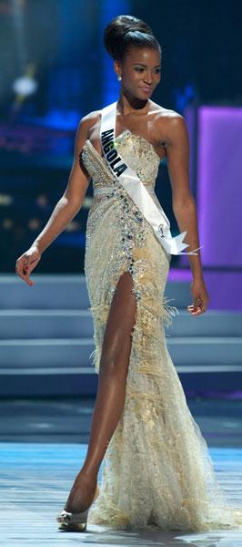 Leila Lopez, Miss Angola Universo