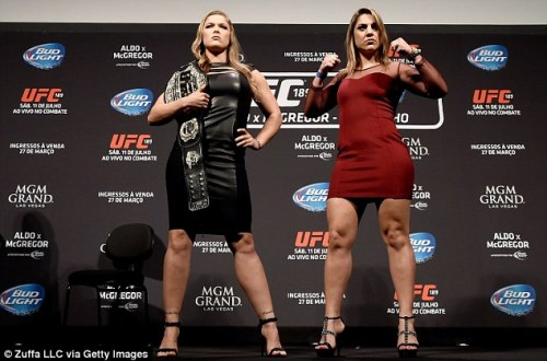 What you think? Ronda Rousey vs Bethe Correia … its going to be close this one….