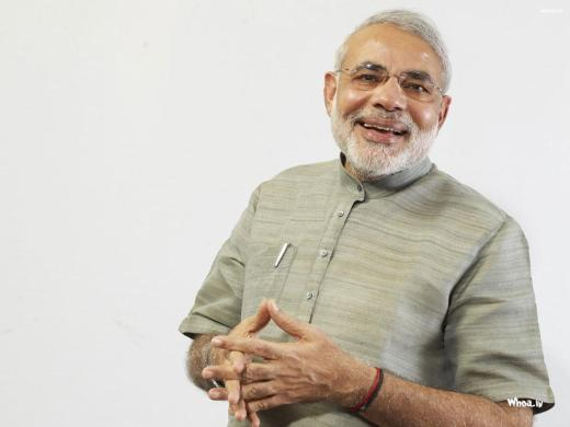 Meet Mr. Modi, the Prime Minister of India.He was previously banned from the U.S. for complicity with genocide.He almost has us convinced that his hands are clean.