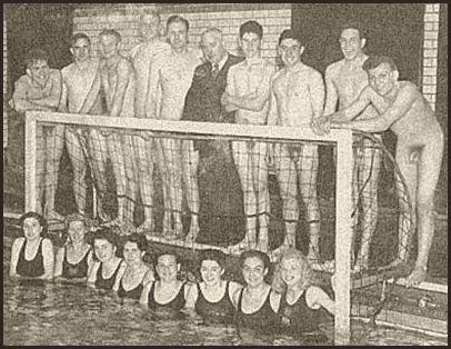 naked men swimming