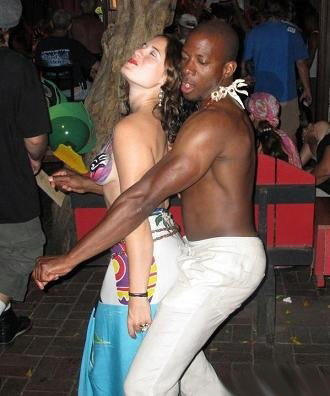 interracial wife jamaica