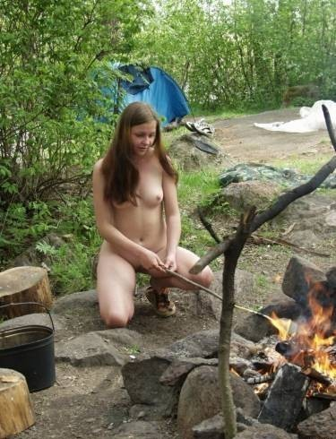 camping wife tumblr
