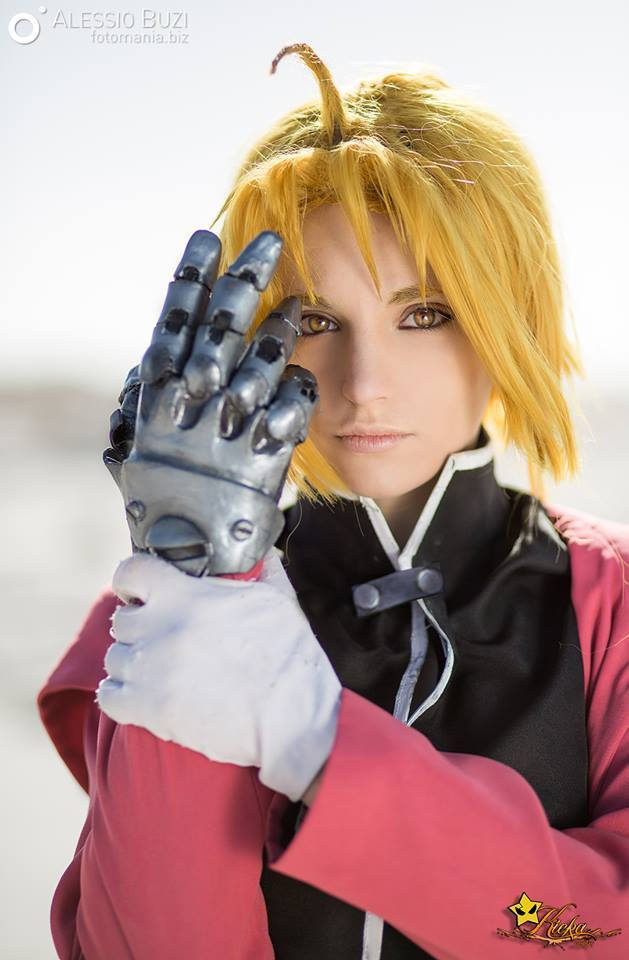 Kicka Cosplay as Edward Elric